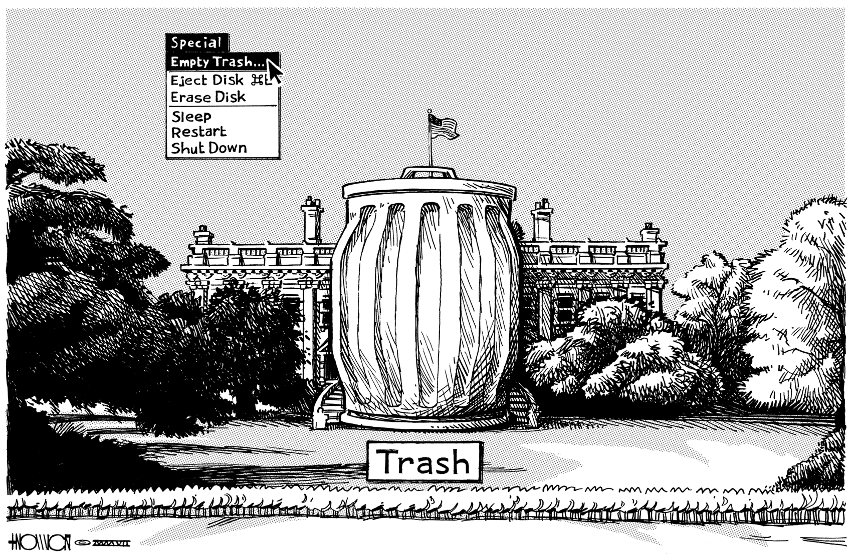 One Man's Trash is Another Man's President
