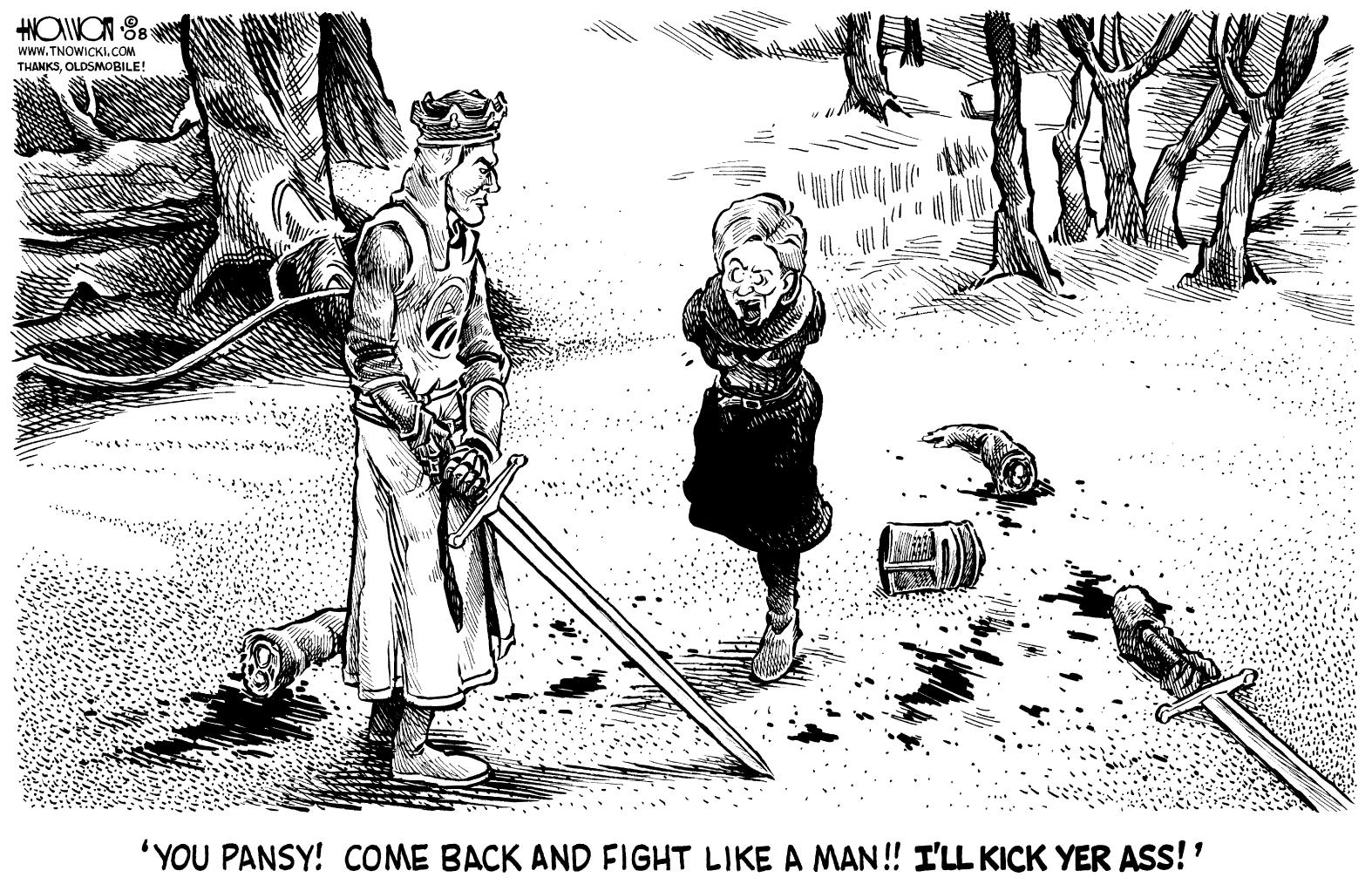 Disarming Hillary