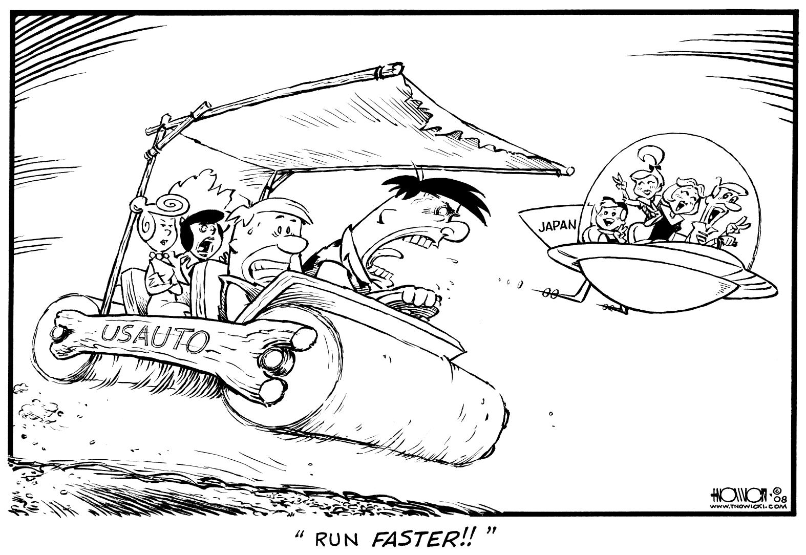 The Jetsons Beat the Flintstones