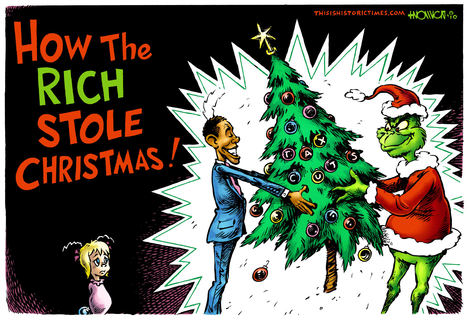 How the Rich Stole Christmas!