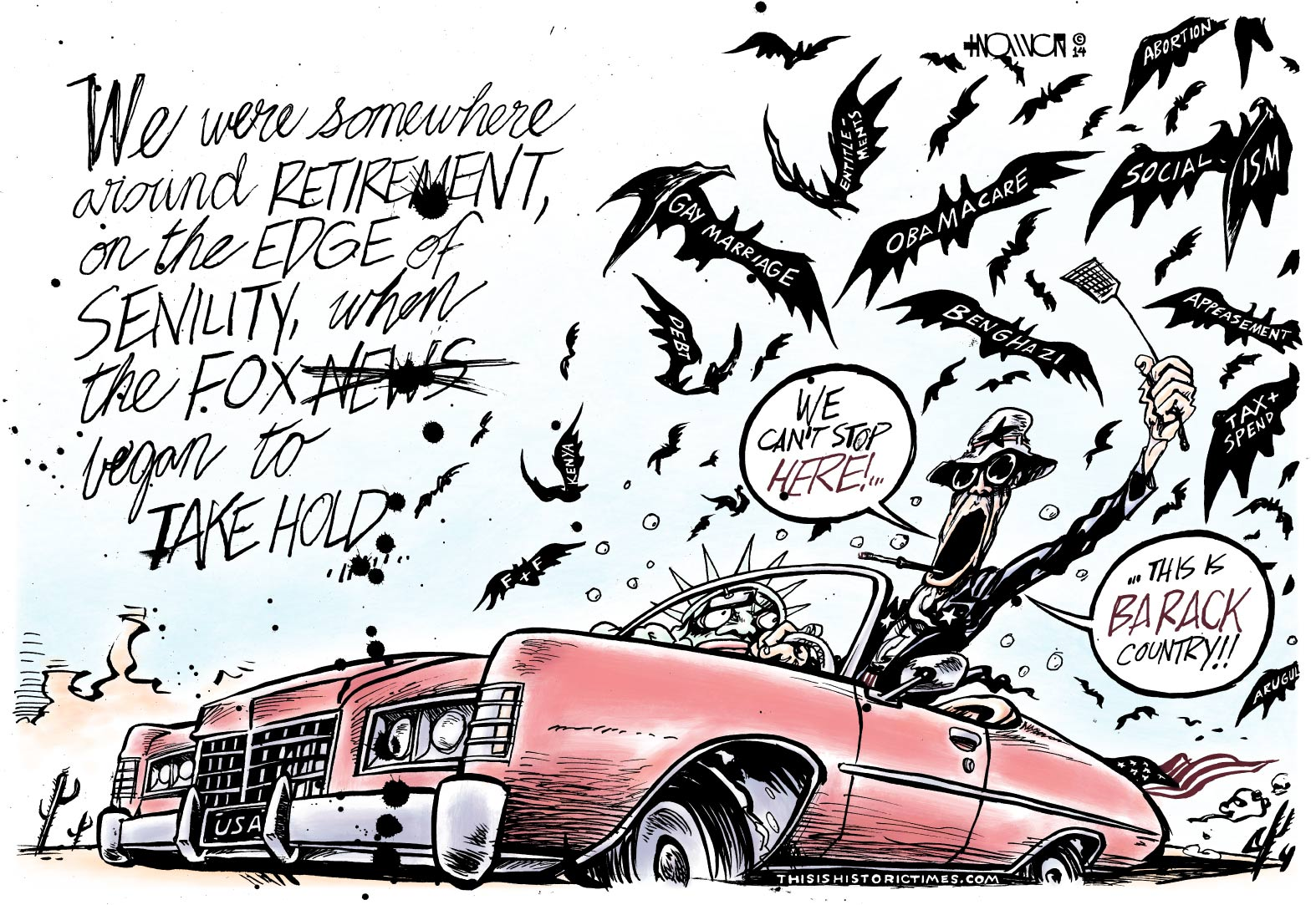 Fear and Loathing on Fox News