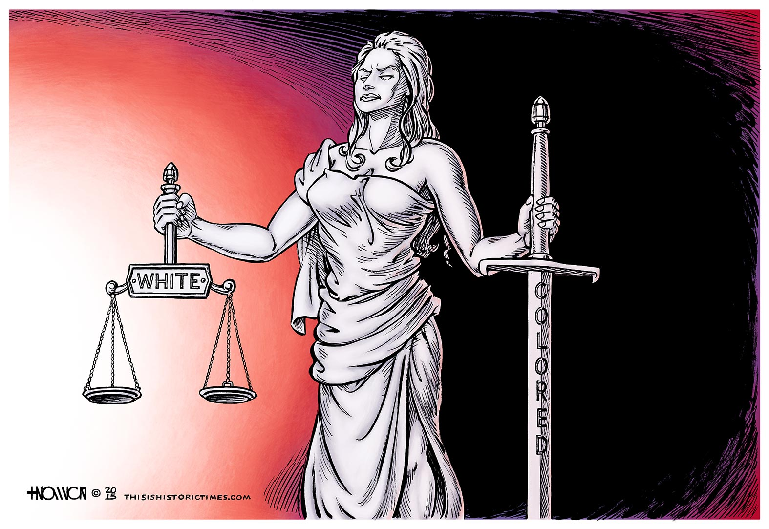Separate but Equal Justice Under Law