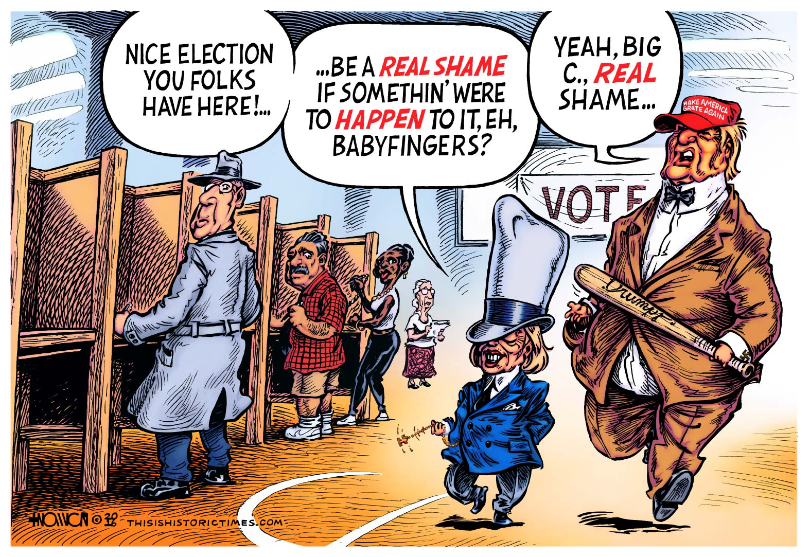 Gangsters Steal Election!