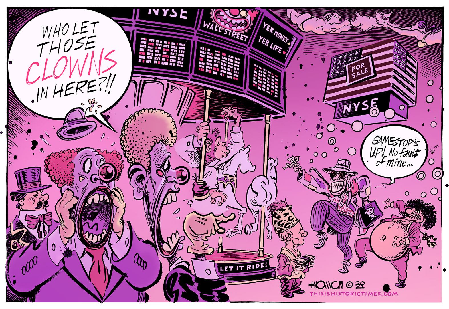 Fear And Loathing at the New York Stock Exchange